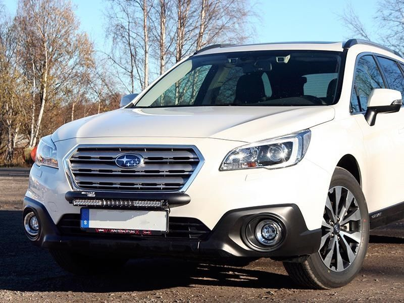 Subaru outback 2015 wilderness lighting bumper mount led light bar aloadofball Image collections