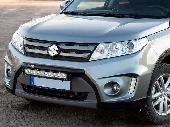 Suzuki vitara 2015 wilderness lighting bumper mount led light bar mozeypictures Image collections