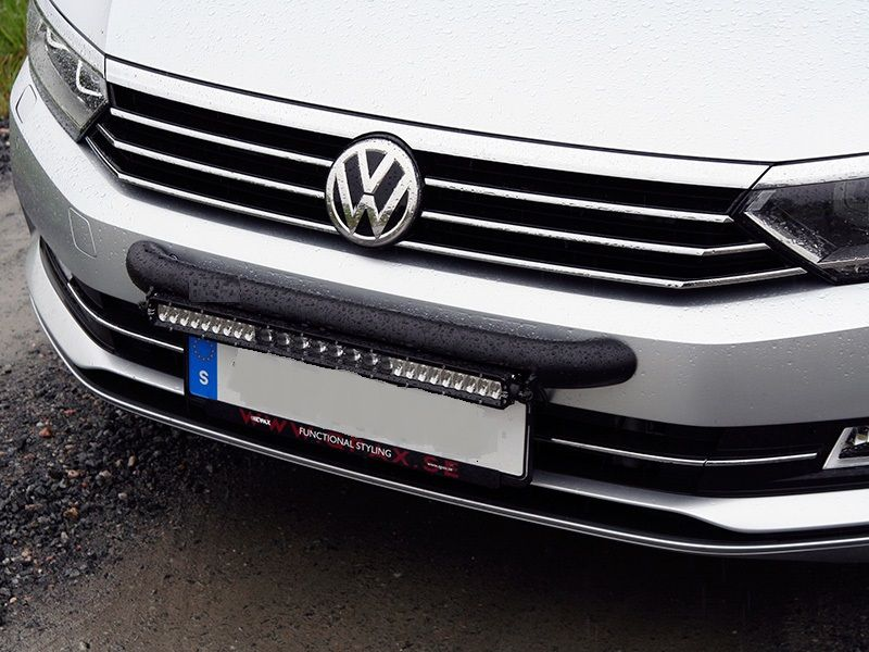 Vw passat 2011 2014 wilderness lighting bumper mount led light bar mozeypictures Image collections